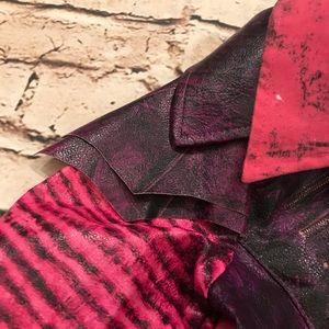 Costumes - Disney Descendants Mal Girls pleather jacket